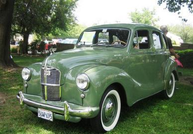 Austin a40 dorset devon guide history and timeline from for 1948 austin devon 4 door