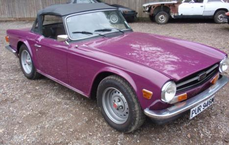 Triumph TR6 (1973) - Ref: 1437 from classiccars.co.uk