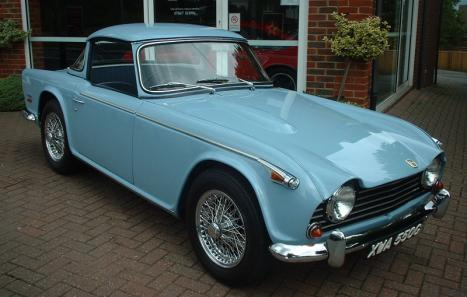 Triumph Tr5 1969 Ref 1344 From Classiccars Co Uk