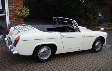 MG Midget Mk II (1966) - Ref: 11895 from classiccars.co.uk