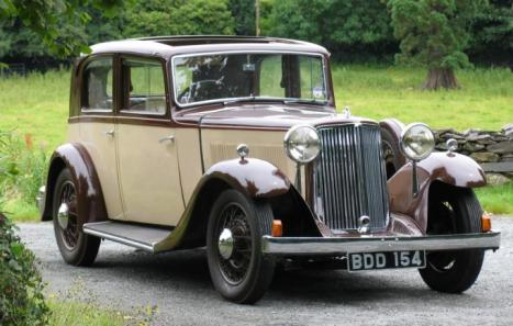 Armstrong Siddeley 20 25 1936 Ref 1187 From