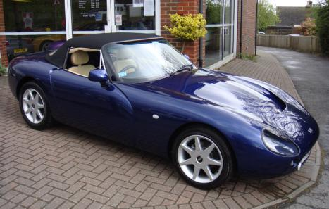 tvr griffith 500 lhd for sale tvr 1996 griffith 500 car. Black Bedroom Furniture Sets. Home Design Ideas