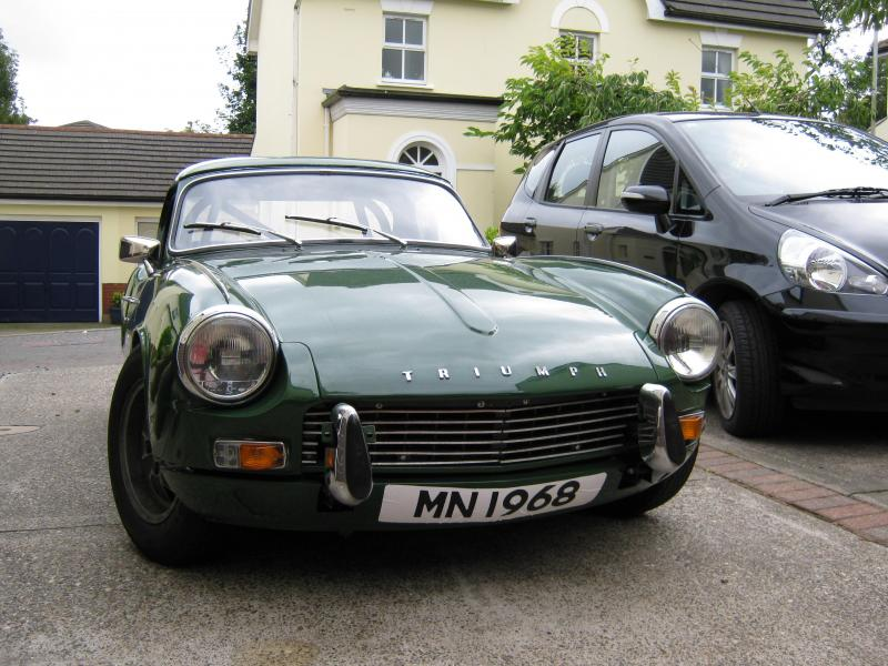 Triumph Spitfire (1968) - Ref: 1657 from classiccars.co.uk
