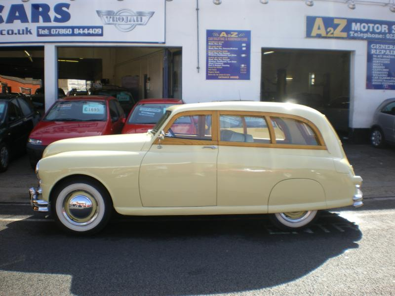 Standard Vanguard Phase II (1952) - Ref: 1356 from classiccars.co.uk