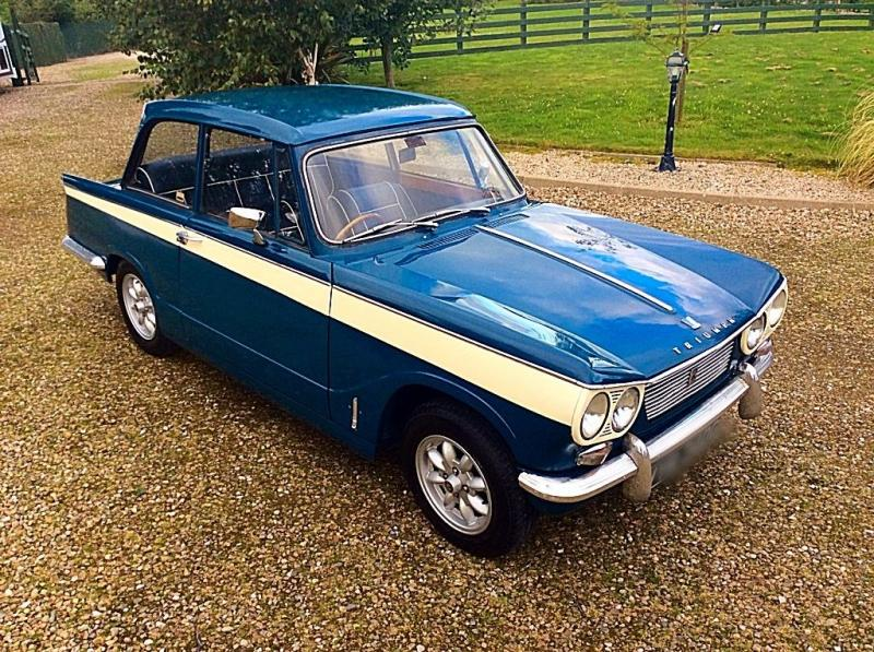 Triumph Vitesse Guide, History and Timeline from ...