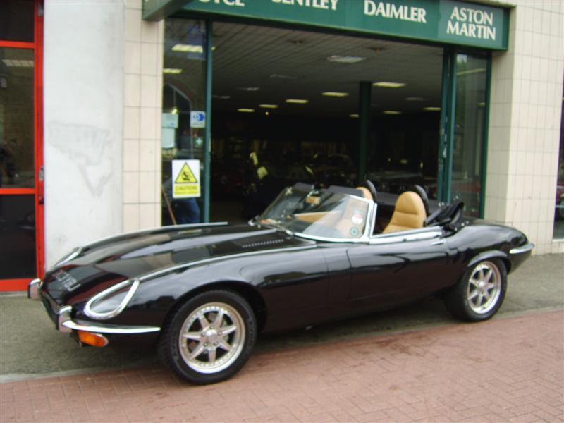 Jaguar e type replica