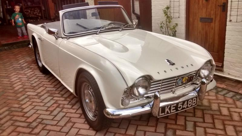 Triumph Tr4 Guide History And Timeline From Classiccarscouk