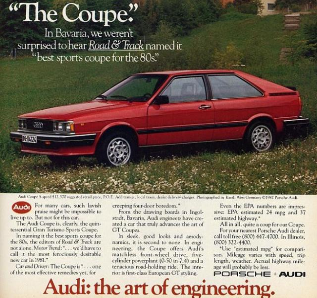 Audi For Sale Under 5000: Audi Coupe Guide, History And Timeline From ClassicCars.co.uk