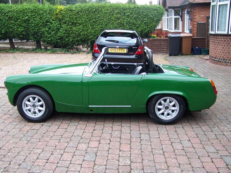 Healey Sprite Race Car For Sale