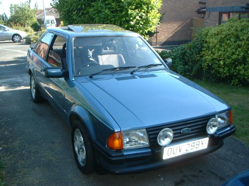 Ford Escort Xr3 I Car Guide