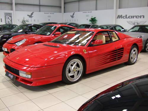 Ferrari Testarossa (1990) - Ref: 1924 from cliccars.co.uk